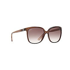 Gucci - Brown round shape GG3696/S sunglasses