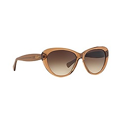 Ralph - Brown cat eye 0RA5189 sunglasses