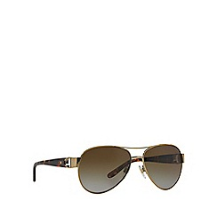 Ralph Lauren - Gold aviator RL7047Q sunglasses