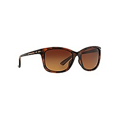 Oakley - Brown OO9232 cat eye sunglasses