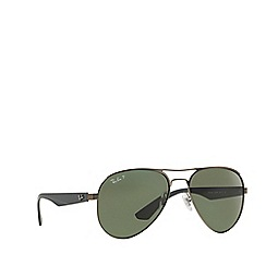 Ray-Ban - Gunmetal  aviator RB3523 sunglasses