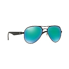 Ray-Ban - Black aviator 'RB3523' sunglasses