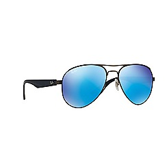 Ray-Ban - Grey aviator 'RB3523' sunglasses