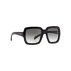 Prada - Black square PR 07RS sunglasses