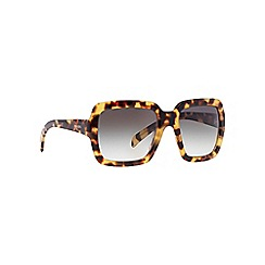 Prada - Brown square PR 07RS sunglasses