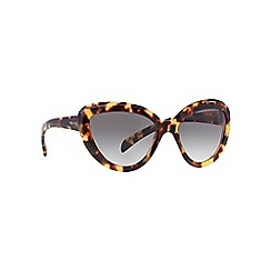 Prada - Brown cat eye PR 08RS sunglasses