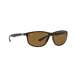 Ray-Ban - Brown pillow '0RB4213' sunglasses