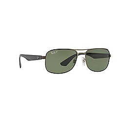 Ray-Ban - Gunmetal  aviator RB3524 sunglasses