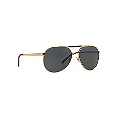 Versace - Gold aviator VE2155 sunglasses