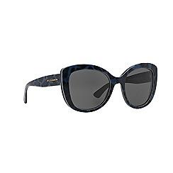Dolce & Gabbana - Blue oversize DG4233 sunglasses
