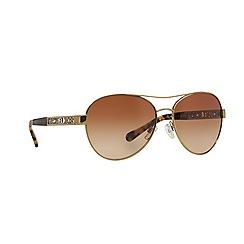 Michael Kors - Gold pilot 0MK5003 sunglasses
