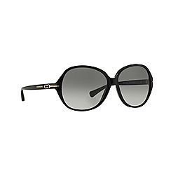 Coach - Black round '0HC8118' sunglasses