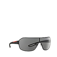 Prada Linea Rossa - Black rectangle PS 52QS sunglasses