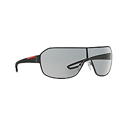 Prada Linea Rossa - Grey rectangle PS 52QS sunglasses