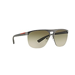 Prada Linea Rossa - Black rectangle PS 53QS sunglasses