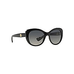 Dolce & Gabbana - Black DG6090 square sunglasses