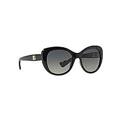 Dolce & Gabbana - Black d-frame DG6090 sunglasses