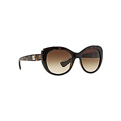 Dolce & Gabbana - Brown d-frame DG6090 sunglasses