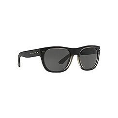 Dolce & Gabbana - Black d-frame DG6091 sunglasses
