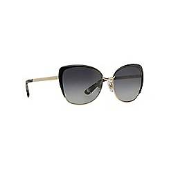 Dolce & Gabbana - Black butterfly '0DG2143' sunglasses