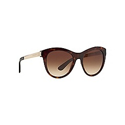 Dolce & Gabbana - Gold DG4243 round sunglasses