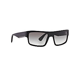 Prada - Black rectangle PR 04RS sunglasses