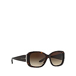 Ralph Lauren - Brown RL8127B rectangle sunglasses