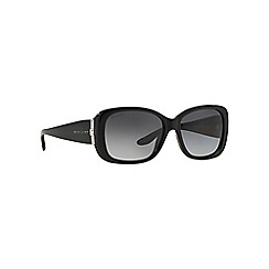 Ralph Lauren - Black rectangle RL8127B sunglasses