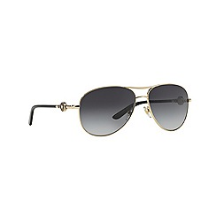 Versace - Black aviator VE2157 sunglasses