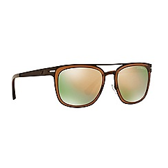 Emporio Armani - Brown square EA2030 sunglasses