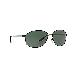 Ralph Lauren - Black aviator RL7048 sunglasses