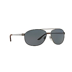 Ralph Lauren - Gunmetal aviator RL7048 sunglasses