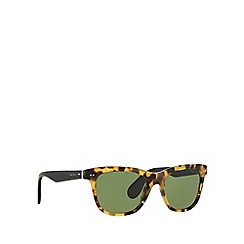 Ralph Lauren - Brown square RL8119W sunglasses