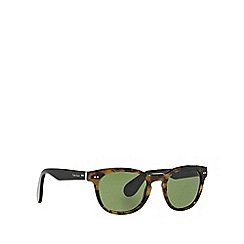 Ralph Lauren - Brown RL8130P round sunglasses