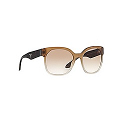 Prada - Grey irregular PR 10RS sunglasses