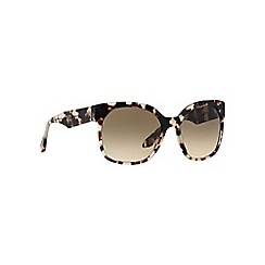 Prada - Brown 'Irregular pr 10rs' sunglasses