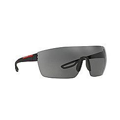Prada Linea Rossa - Black rectangle PS 01QS sunglasses