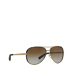 Michael Kors - Brown MK5004 pilot sunglasses