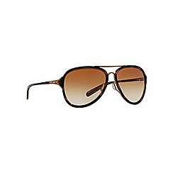 Oakley - Brown aviator 0OO4102 sunglasses