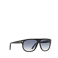 Tom Ford - Black FT0375 rectangle sunglasses