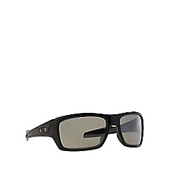 Oakley - Shiny black 'Turbine' OO9263 rectangle sunglasses