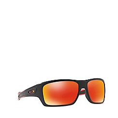 Oakley - Red OO9263 Turbine rectangle sunglasses