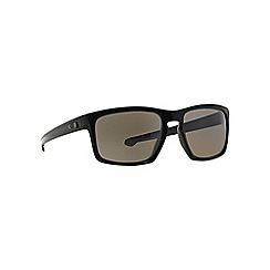 Oakley - Shiny black 'Sliver' OO9262 rectangle sunglasses
