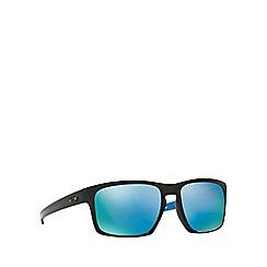Oakley - Black 'Sliver' OO9262 rectangle sunglasses