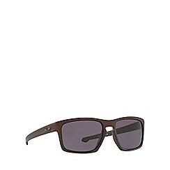 Oakley - Matte bronze 'Sliver' OO9262 rectangle sunglasses