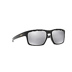 Oakley - Polished black 'Sliver' OO9262 rectangle sunglasses