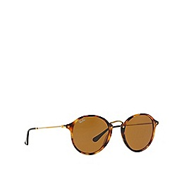 Ray-Ban - Brown  round RB2447 sunglasses