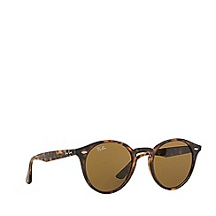 Ray-Ban - Brown  round RB2180 sunglasses
