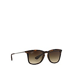 Ray-Ban - Brown  square RB4221 sunglasses