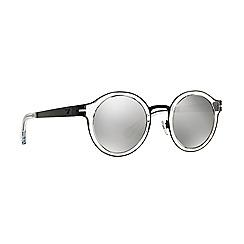 Emporio Armani - Black round EA2029 sunglasses